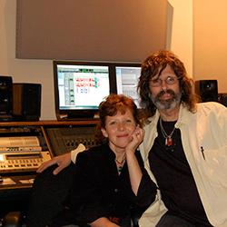 Julie Last with Charles Lyonhart
