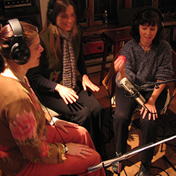 Sera Smolen, Kirsti Gholson and Julie Last